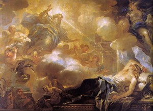 The Dream of Solomon by Giordano