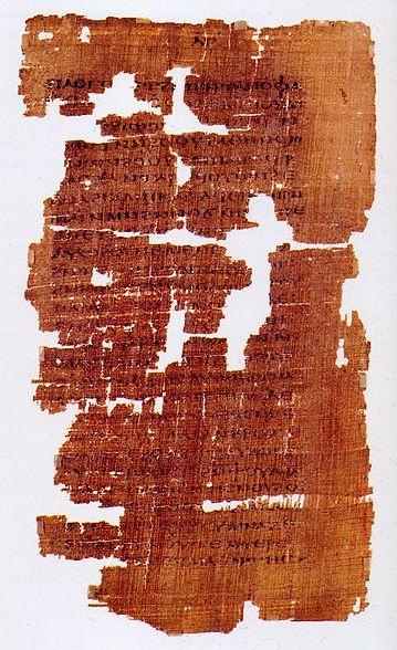 p33 of the Gospel of Judas