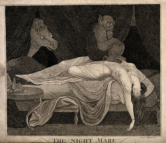 A_woman_fast_asleep_with_devil_on_stomach