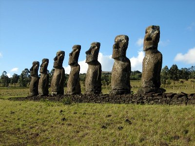 Ahu Akivi of Easter Island