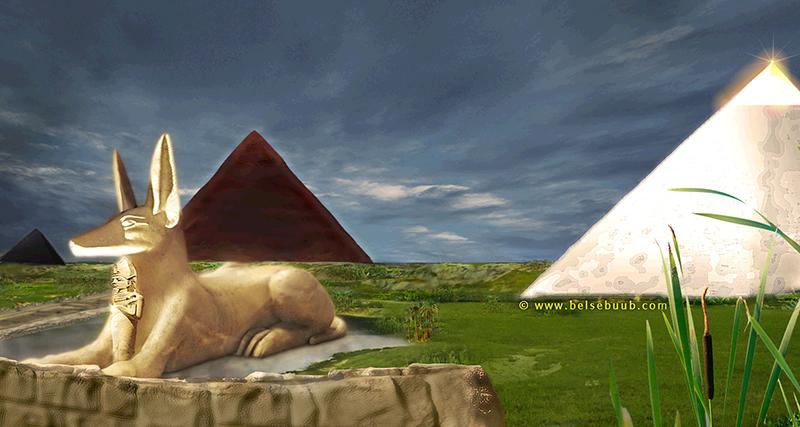 Anubis Sphinx copyright belsebuub.com