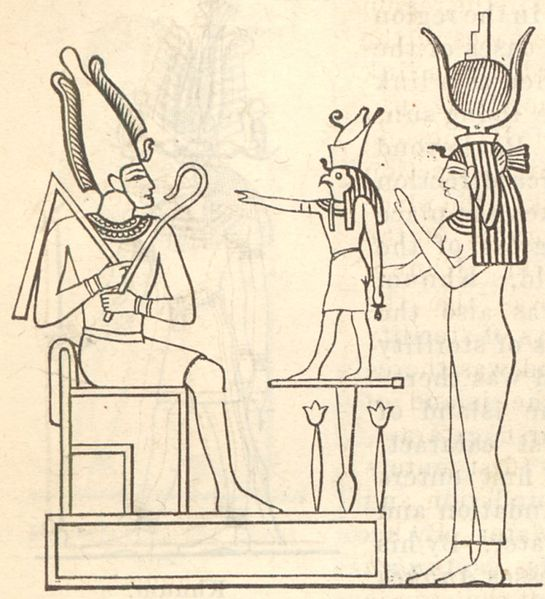 Osiris, Horus, and Isis
