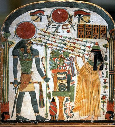 The divine son as Horus