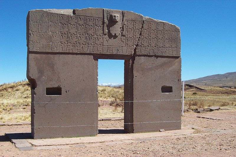The Sun Gate at Tiwanaku