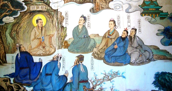 changchun-temple-master-and-disciples-painting