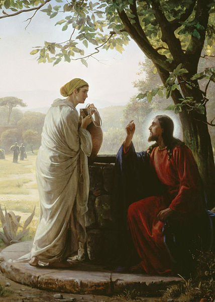 Woman at the Well by Carl Heinrich Bloch