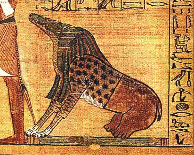 The Egyptian goddess Ammit