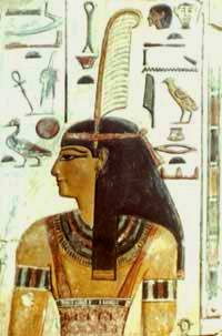 The Egyptian goddess Maat