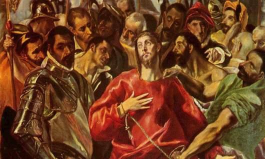 Passion of Jesus El_Greco