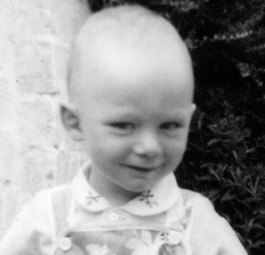 Mark as a child