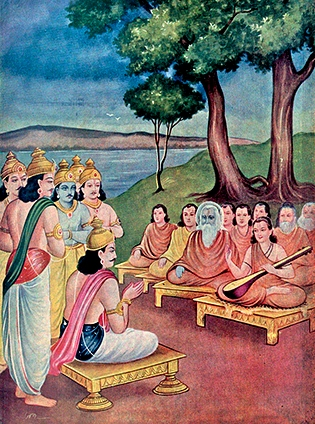 Shanti Parva_process