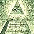 US dollar bill - allseeingeye
