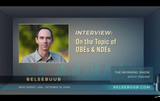 Belsebuub on the morning show